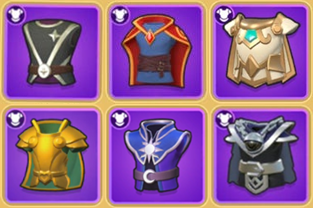 Archero New Equipment (Gear) List including Bright Robe and Shadow Robe (2.0.0 version)