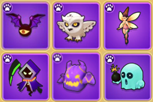Archero New Pet (Spirit) List including Noisy Owl and Flaming Ghost (2.0.0 version)