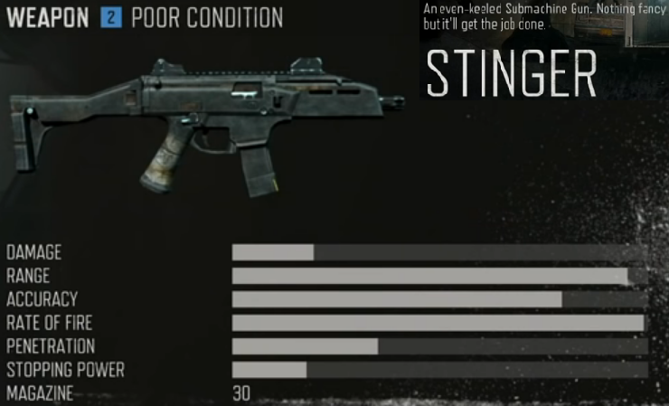 days gone smg stinger