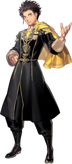 Claude von Riegan fire emblem three houses character part1