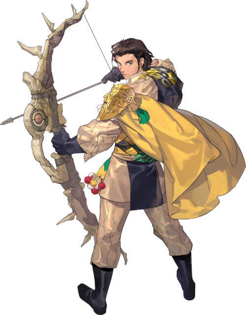 Claude von Riegan fire emblem three houses character part2