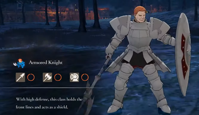 Fire Emblem Three Houses Armored Knight Class mastery
