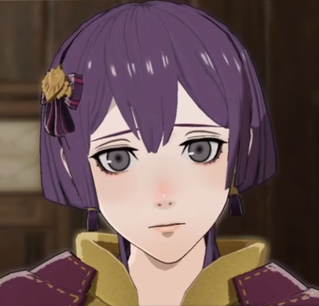 Fire Emblem Three Houses Bernadetta part2