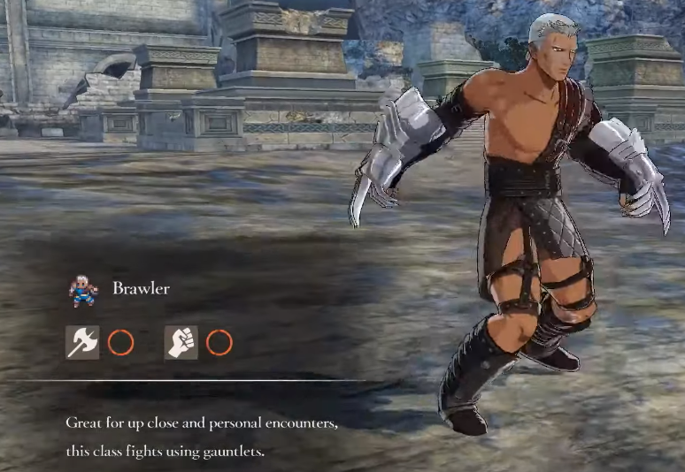 Fire Emblem Three Houses Brawler Class mastery