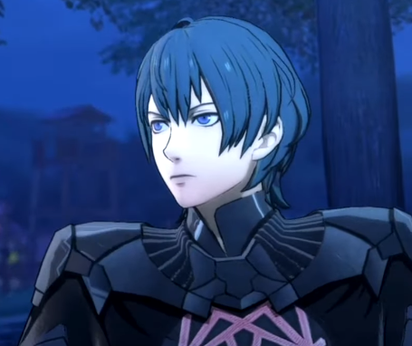 Fire Emblem Three Houses Byleth male part1