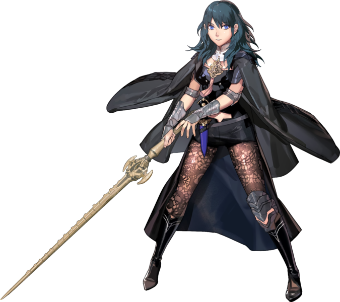 Fire Emblem Three Houses Byleth stats female
