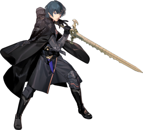 Fire Emblem Three Houses Byleth stats male
