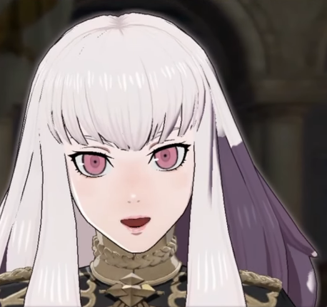 Fire Emblem Three Houses Lysithea part1