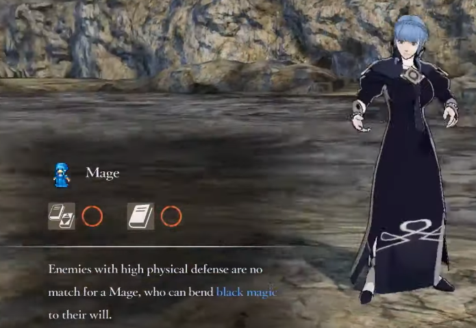 Fire Emblem Three Houses Mage Class mastery