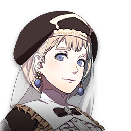 Fire Emblem Three Houses Mercedes stats 5 years