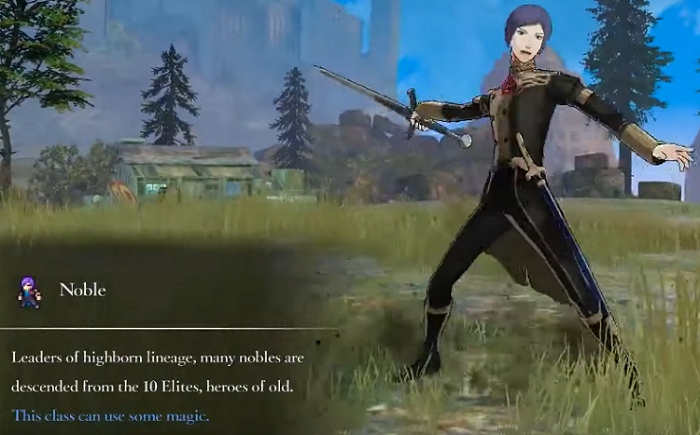 Fire Emblem Three Houses Noble Class skill