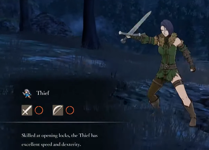 Fire Emblem Three Houses Thief Class mastery