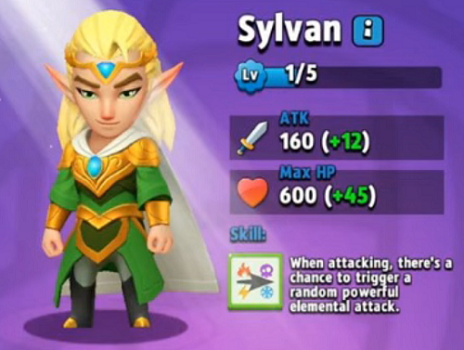 Archero Hero Sylvan