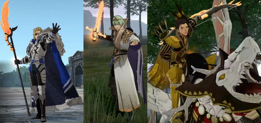 Fire Emblem Three Houses Weapon List and Stats FE3H Guide