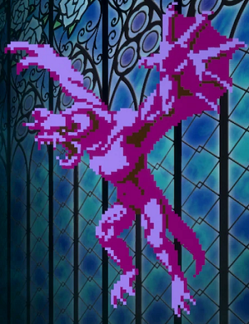 Bloodstained Ritual of the Night Eight Bit Overlord No.106 shard location
