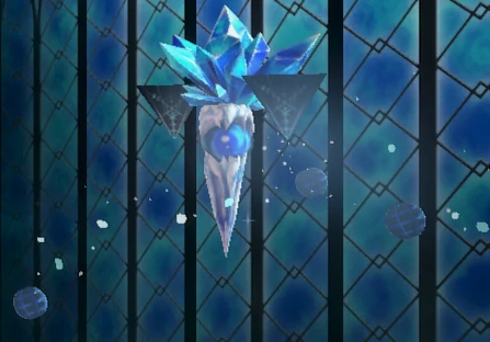 Bloodstained Ritual of the Night Ice Elemental No.098 location shard