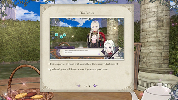 Fire Emblem Three Houses Tea Party Guide perfect tea time
