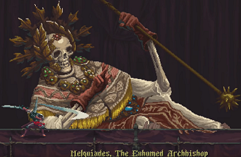Blasphemous Melquiades, The Exhumed Archbishop