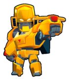Gold Mecha Bo skin