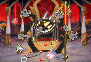 Cuphead The Devil