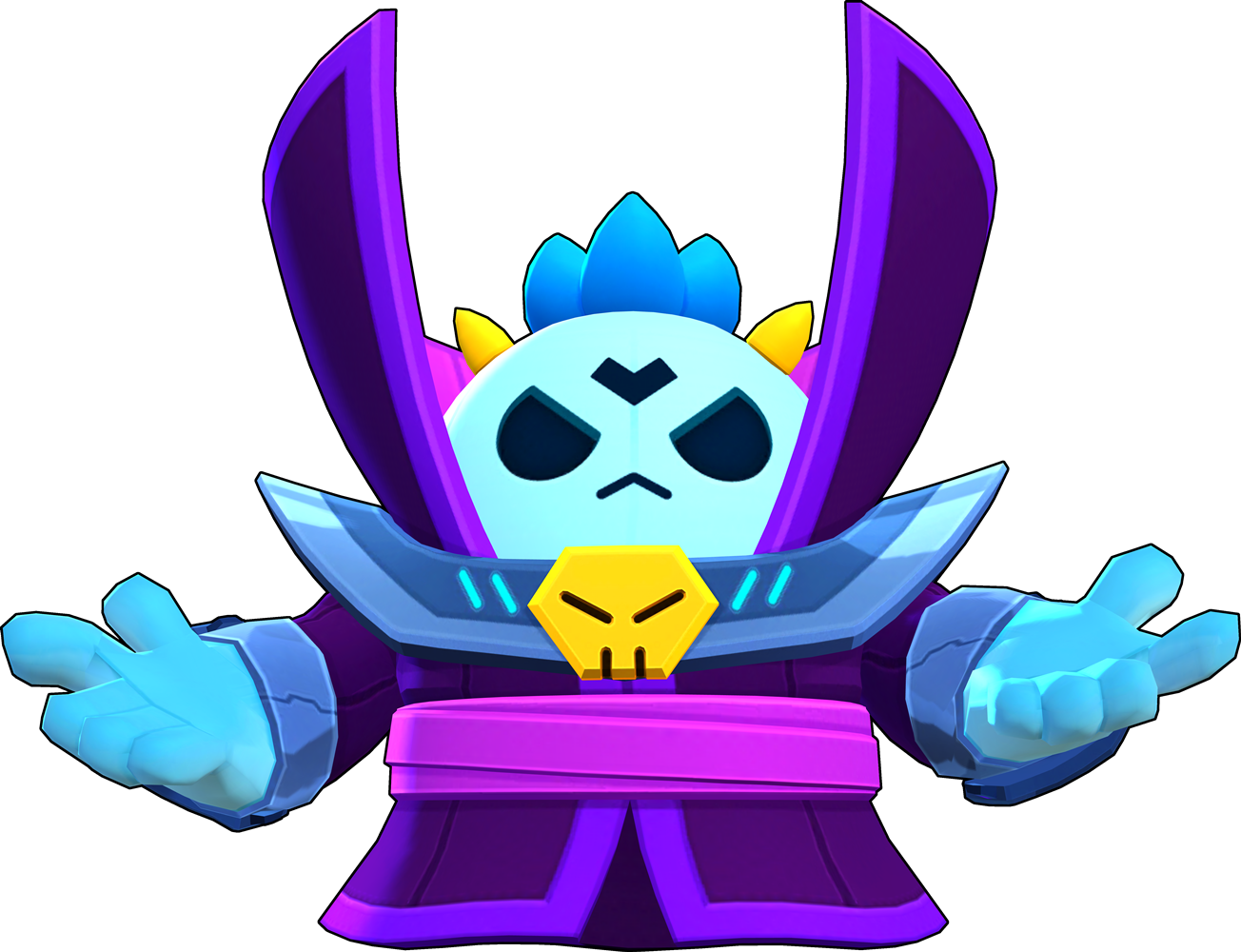 Brawl Stars Dark Lord Spike Skin