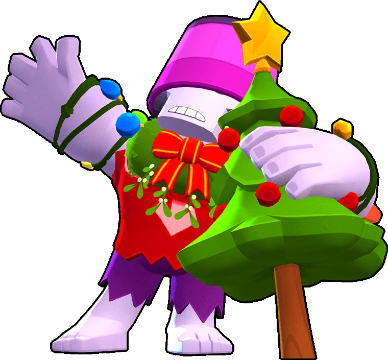 Brawl Stars Holiday Party Frank Skin