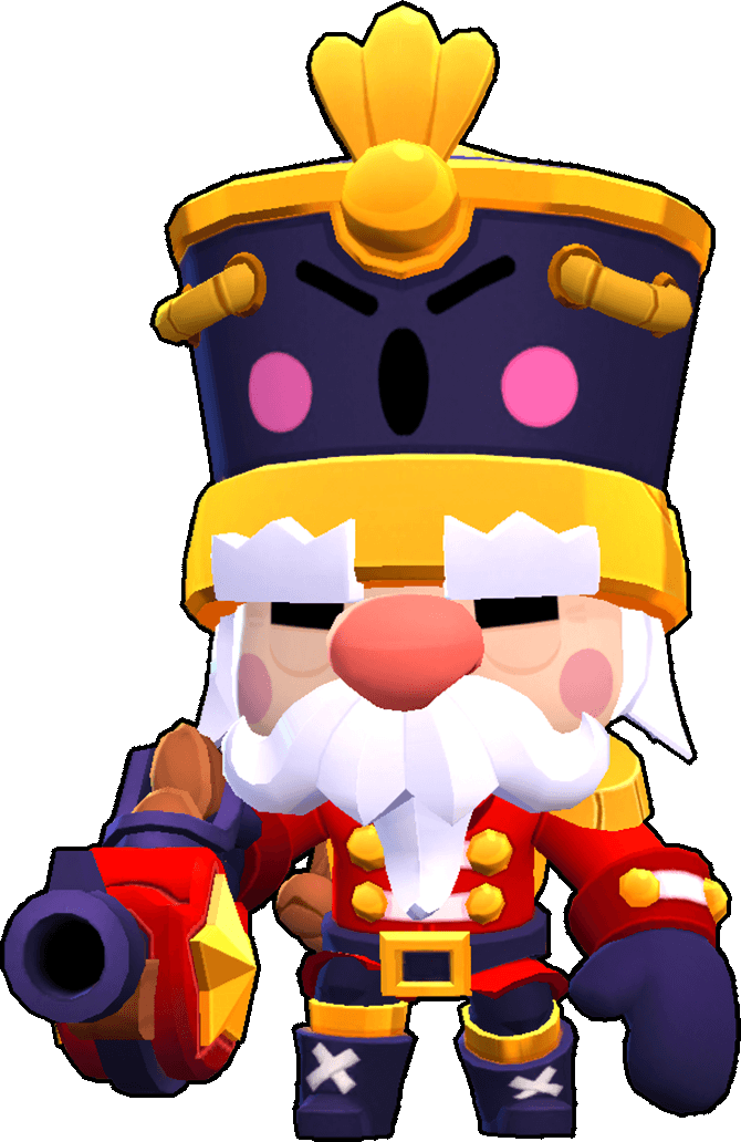 Brawl Stars Nutcracker Gale Skin