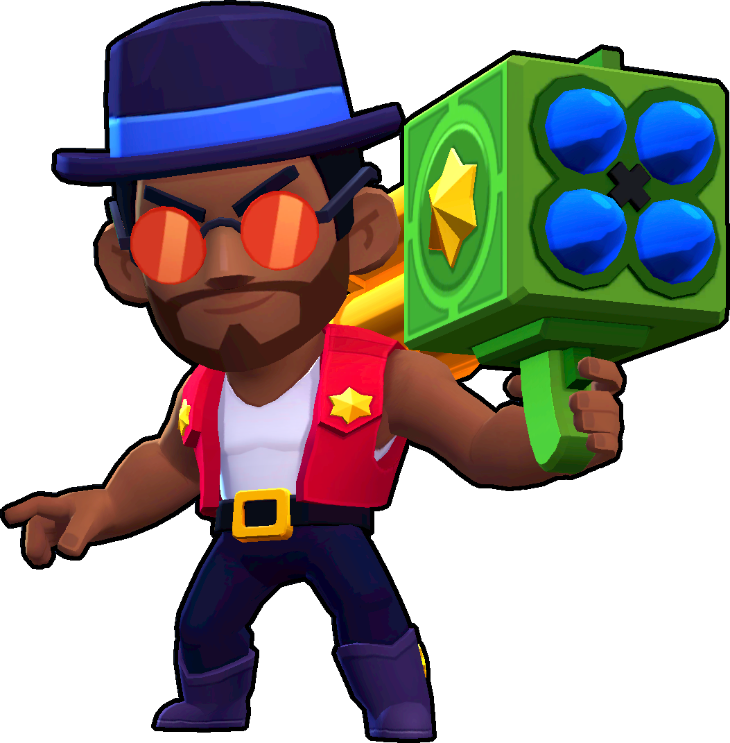 Brawl Stars Old School Brock Skin