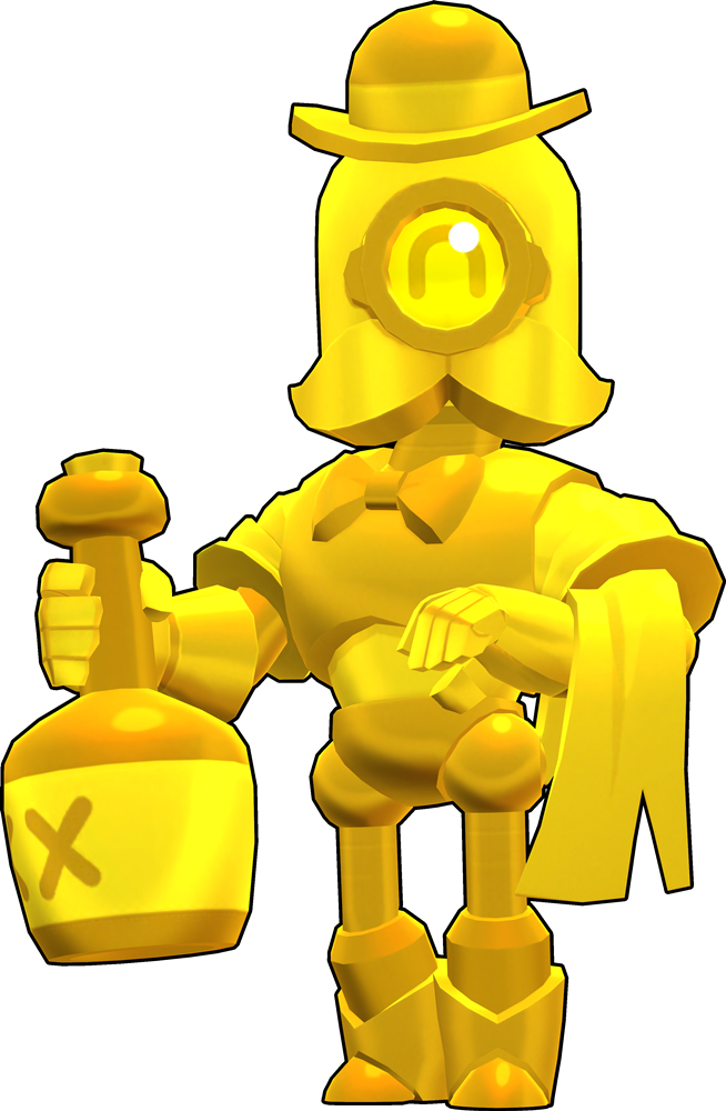 Brawl Stars True Gold Barley Skin