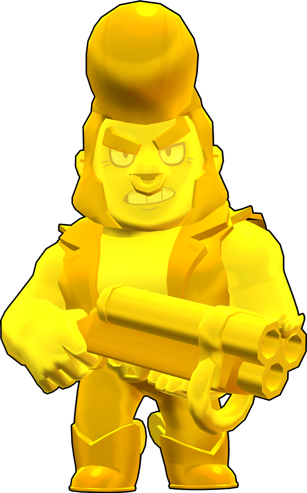 Brawl Stars True Gold Bull Skin