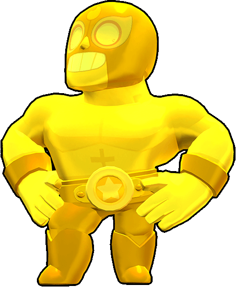 Brawl Stars True Gold El Primo Skin
