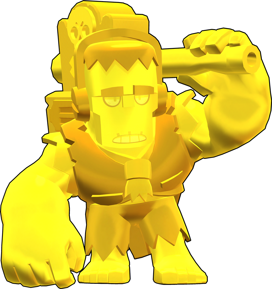 Brawl Stars True Gold Frank Skin