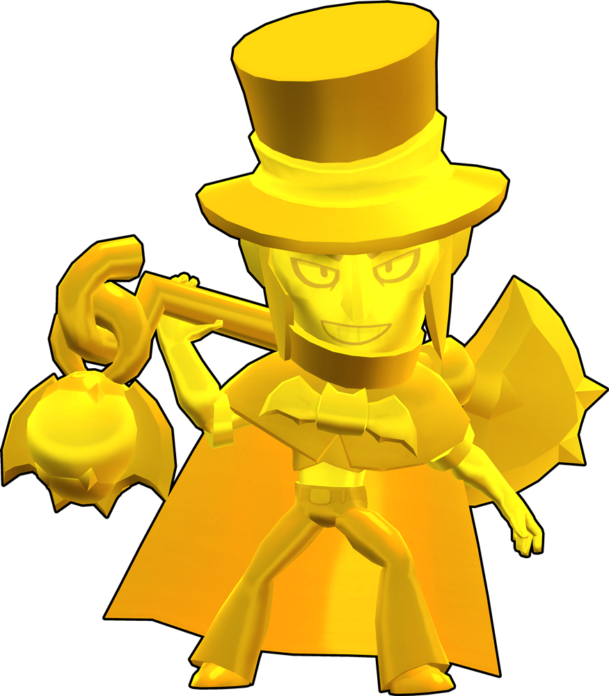 Brawl Stars True Gold (Hat) Mortis Skin