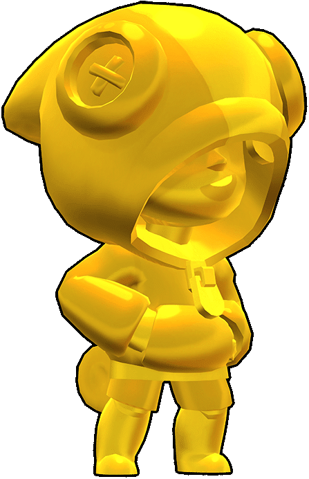 Brawl Stars True Gold Leon Skin