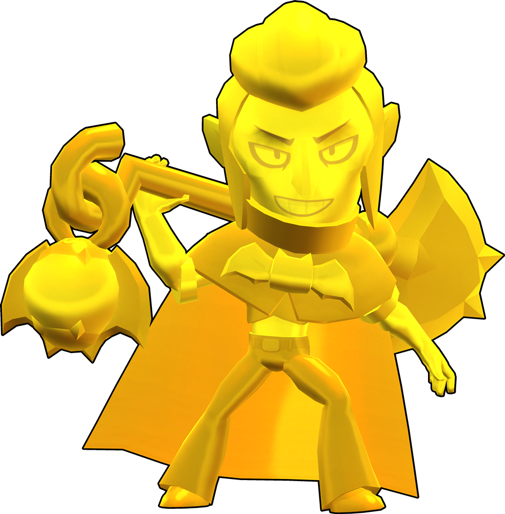 Brawl Stars True Gold Mortis Skin