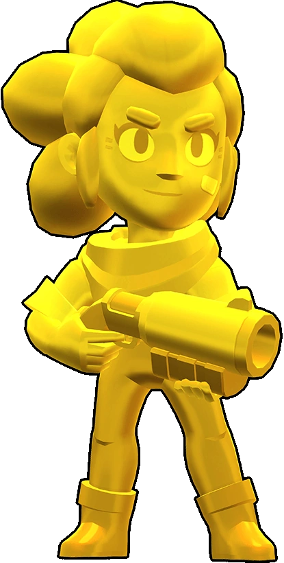 Brawl Stars True Gold Shelly Skin
