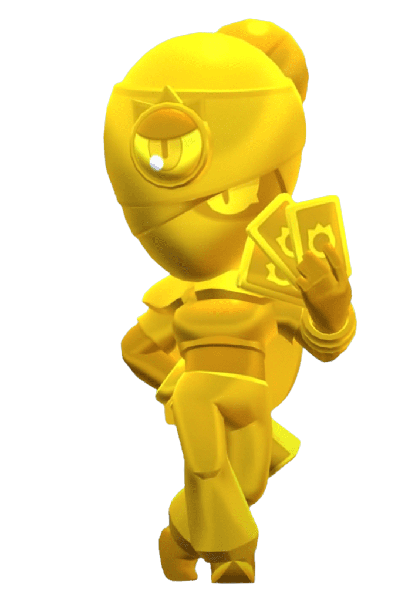 Brawl Stars True Gold Tara Skin