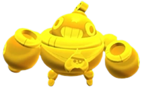 Brawl Stars True Gold Tick Skin