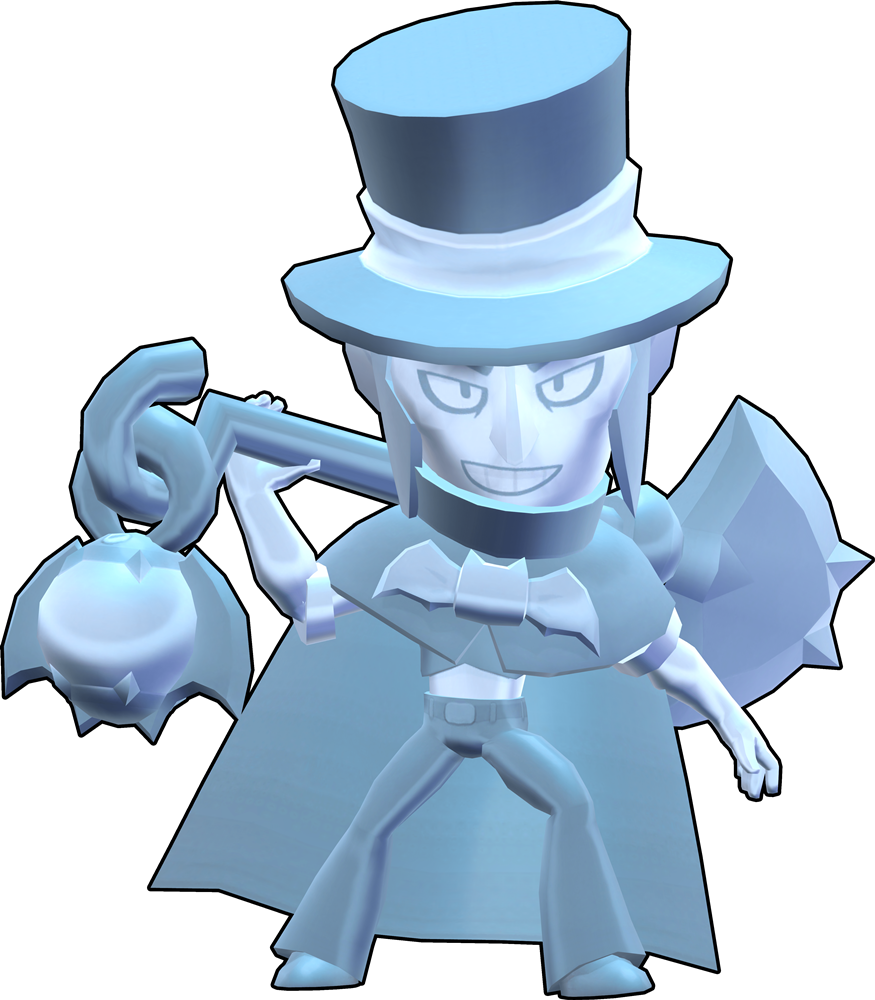 Brawl Stars True Silver (Hat) Mortis Skin