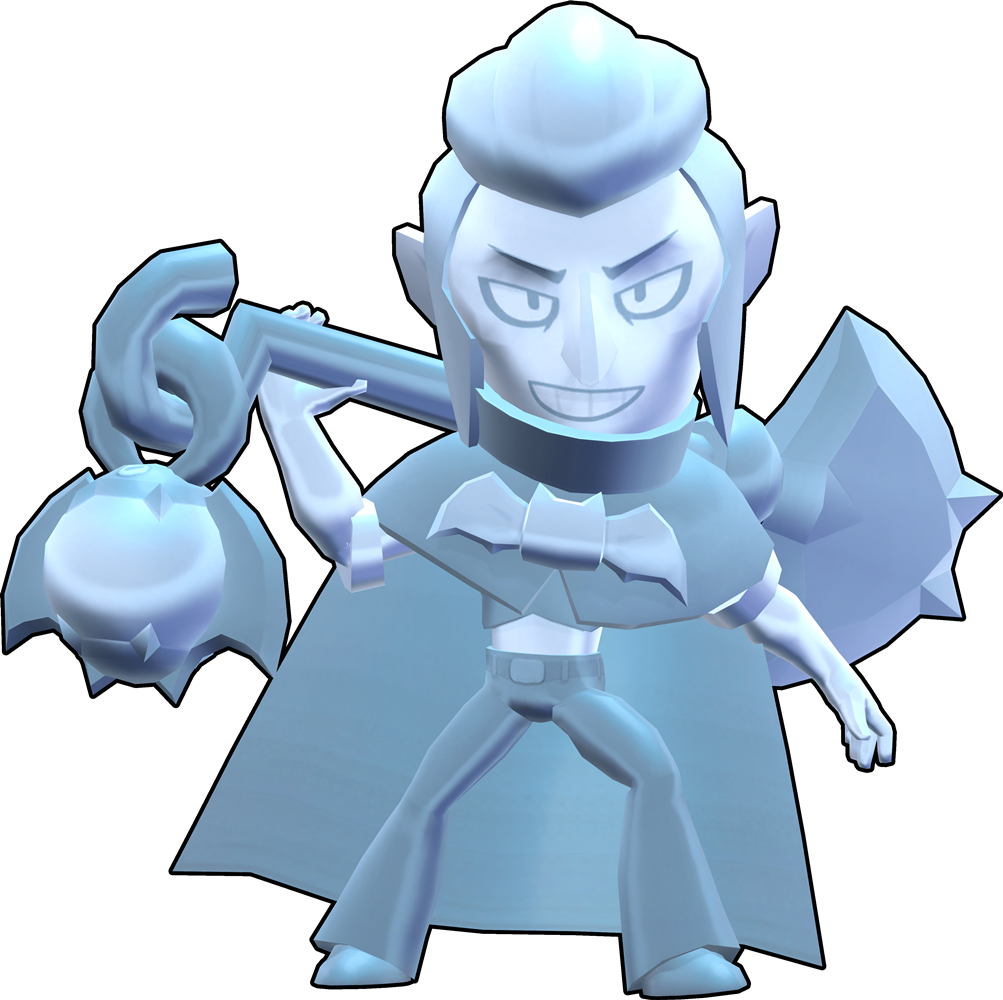 Brawl Stars True Silver Mortis Skin