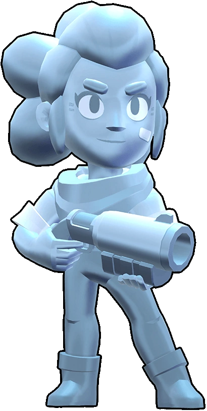 Brawl Stars True Silver Shelly Skin