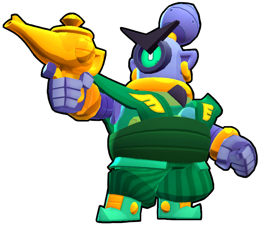 Brawl Stars Guard Rico Skin