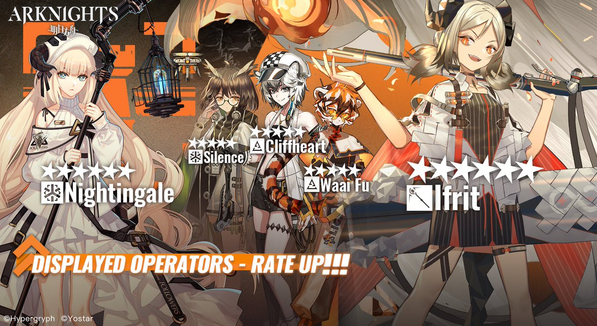Arknights Ifrit & Nightingale Banner