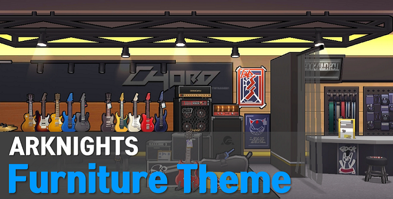 Arknights Furniture Theme Sets