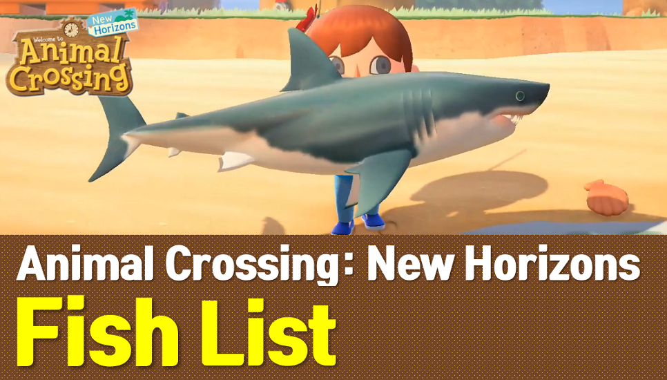 Animal Crossing New Horizons Fish List (ACNH Wiki)