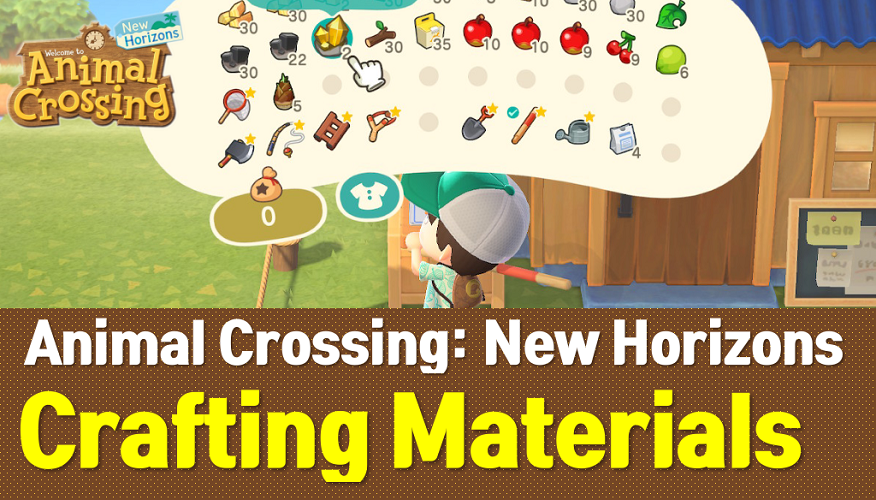 Animal Crossing New Horizons Crafting Materials List (ACNH Wiki)