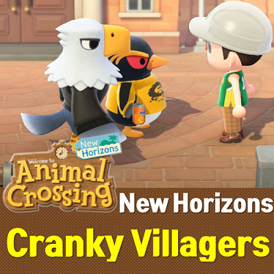 Animal Crossing New Horizons Cranky Villagers List   ACNH ...