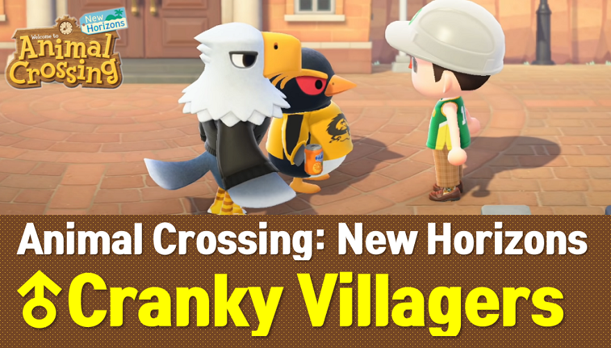 Animal Crossing New Horizons Cranky Villagers List | ACNH ...