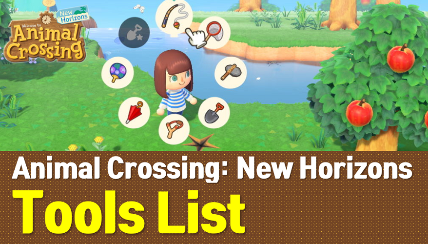 Animal Crossing New Horizons Tools List Acnh Wiki Owwya