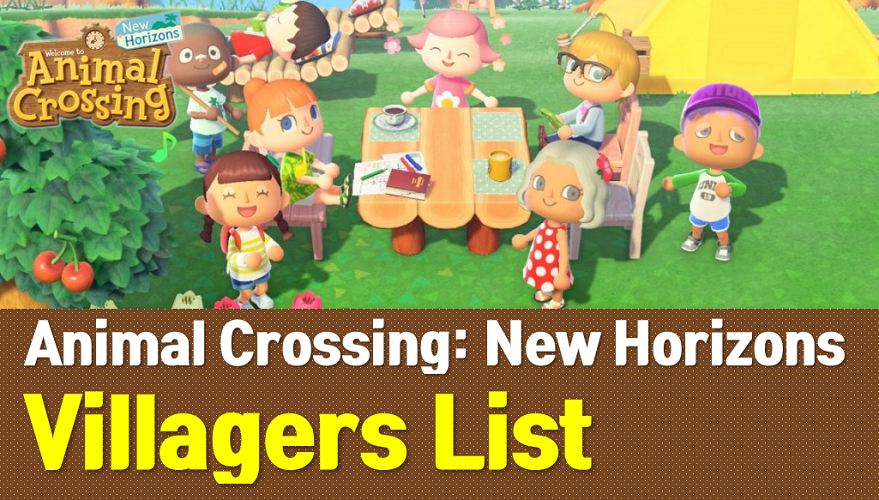 Animal Crossing New Horizons Villagers List (ACNH Wiki)